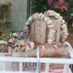 coronitas y diademas de flores