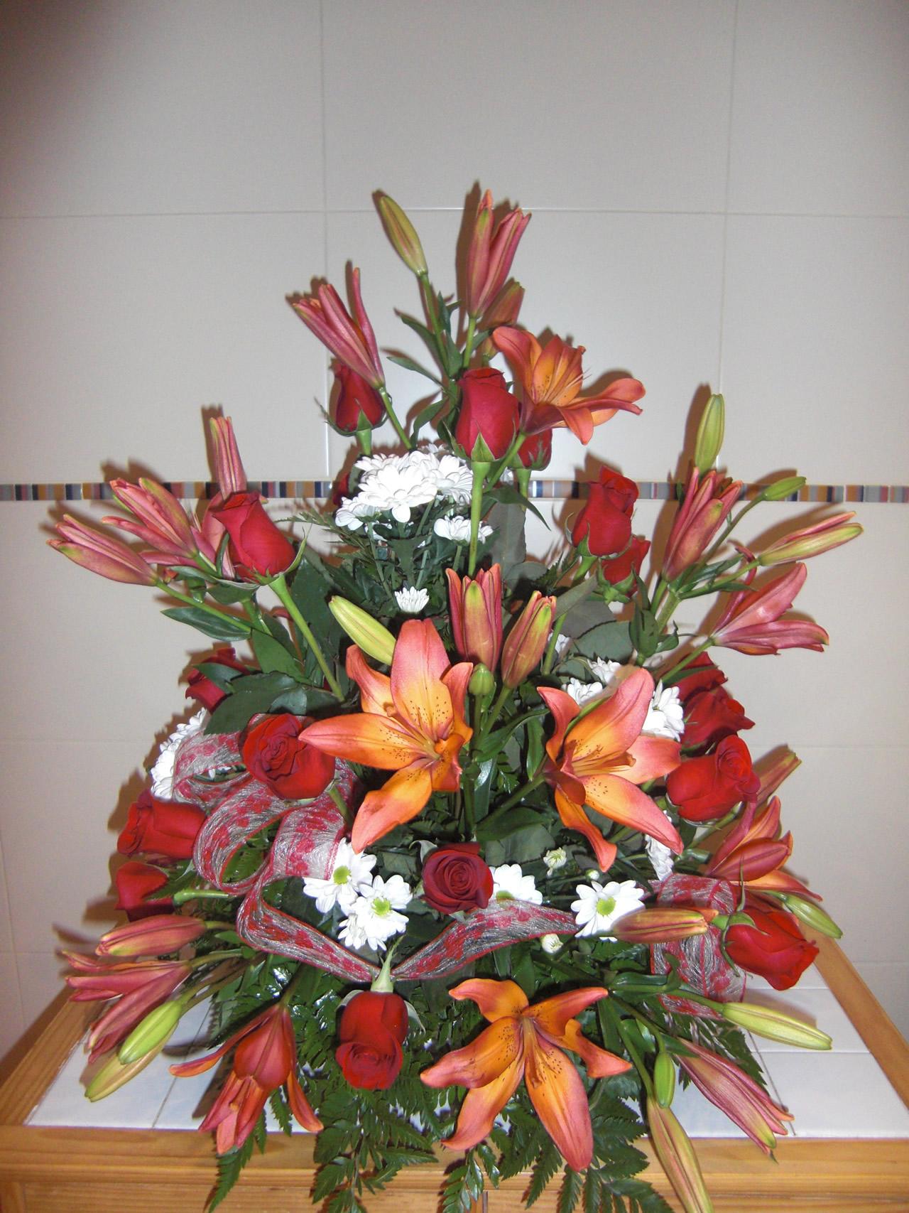 Centro de flores naturales 4 - Centros de plantas naturales ...
