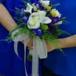Ramo de novia en tonos azules
