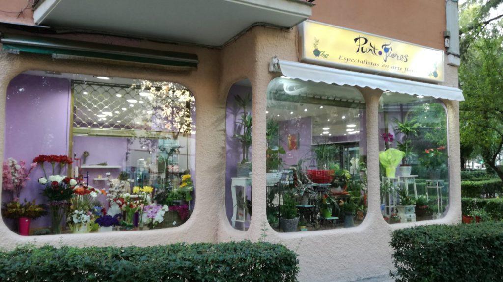PUNTOFLORES la floristería del barrio